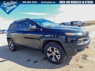 2016 Jeep Cherokee Trailhawk 4x4 | Leather | Sunroof SUV