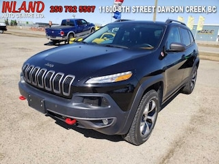 2015 Jeep Cherokee Trailhawk Nav,Bluetooth,Leather,Heat/Cool Seat SUV