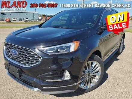 2020 Ford Edge Titanium Sunroof,Bluetooth,Touch Screen,AWD SUV