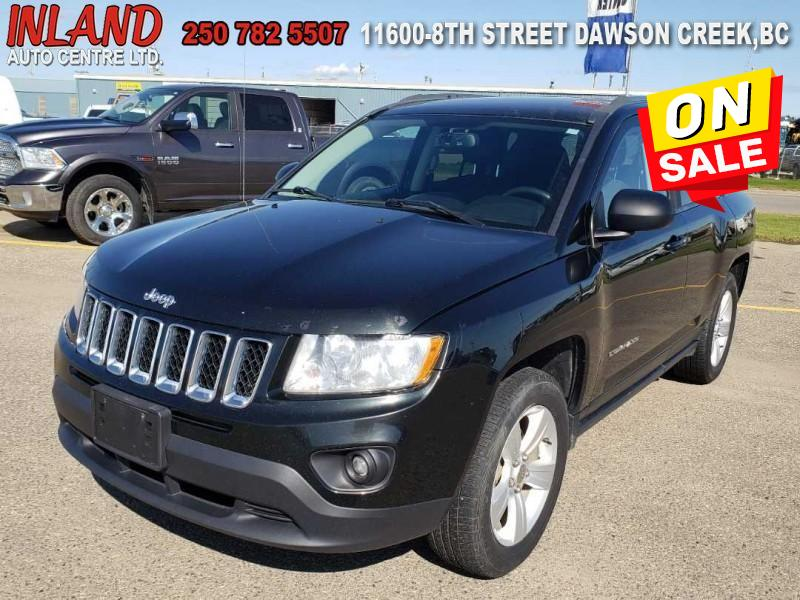 2013 Jeep Compass Sport Heated Seats,Sat Radio,4X4 SUV