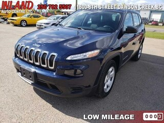 2014 Jeep Cherokee Sport Bluetooth,Touchscreen,9spd,FWD SUV
