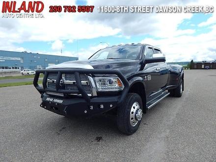 2017 Ram 3500 Laramie Longhorn Leather,Nav,Diesel,Bluetooth Truck Crew Cab