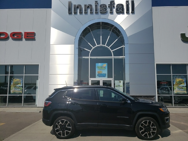 2018 Jeep Compass Limited 4x4, Leather, Navigation, Panoramic Power,
