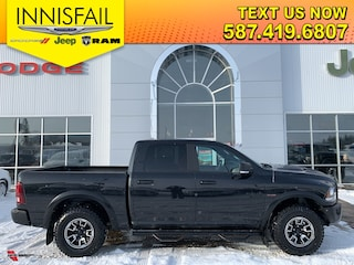 2017 Ram 1500 REBEL 4x4, 4 Corner Air Suspension, Leather Heated Seats, Sunroof, Upgraded Alpine Sound System, Remote Start, Protection Group, Clean CARFAX