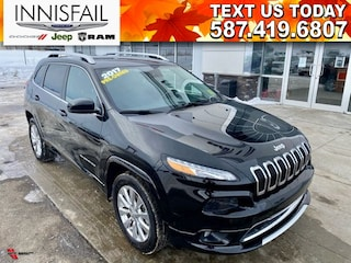 2017 Jeep Cherokee OVERLAND! INCLUDES EXTENDED WARRANTY!