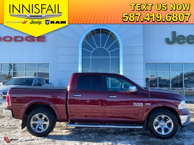 2017 Ram 1500 Laramie, Heated And AC Seats, Heated Steering Whee
