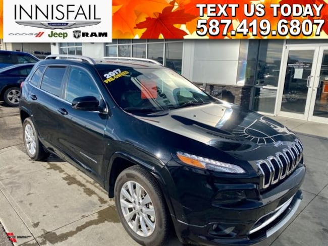 2017 Jeep Cherokee OVERLAND! FULL LOAD! LEASE FOR $249 B/W!