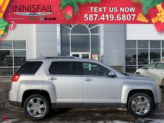 2013 GMC Terrain SLT-2 Leather Heated Seats, Navigation, Sunroof, Remote Start, Backup Camera, Rear Park Assist, Bluetooth, Lane Departure Assist, Forward Collision Warning, Clean CARFAX