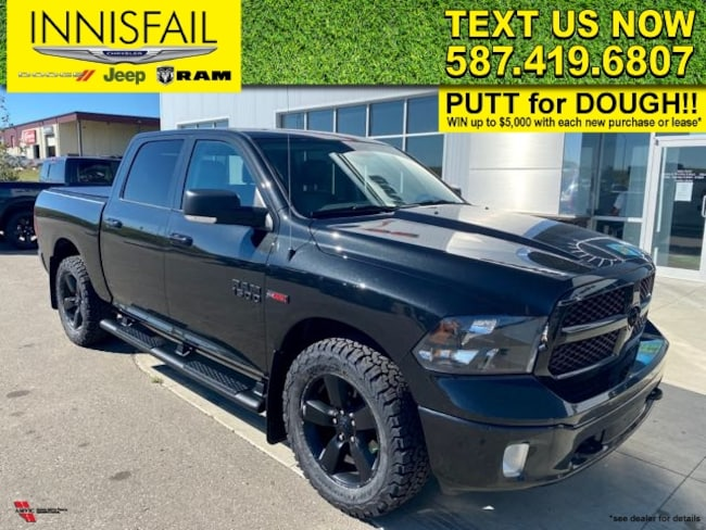 2018 Ram 1500 ECO DIESEL BIGHORN WITH NEW TIRES!!!