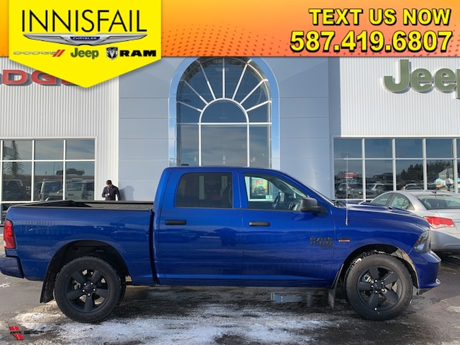 2019 Ram 1500 Classic ST Express 4x4, Heated Seats, Heated Steering Wheel, Bluetooth, Sport Appearance Group, Remote Start, 3.92 Rear Axle Ratio, Spray In Liner, Clean CARFAX