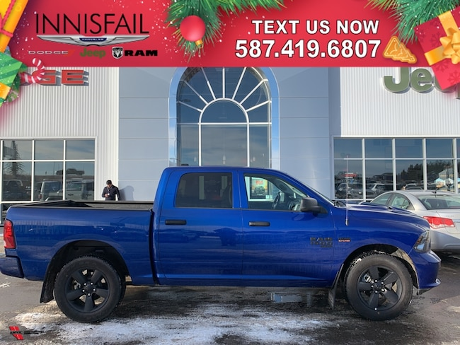 2019 Ram 1500 Classic ST Express 4x4, Heated Seats, Heated Steering Wheel, Bluetooth, Sport Appearance Group, Remote Start, Spray In Bedliner, Clean CARFAX