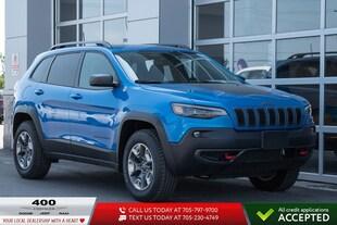 2019 Jeep New Cherokee Trailhawk 4x4 SUV 1C4PJMBX2KD480048