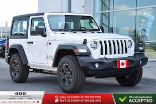 2019 Jeep All-New Wrangler Sport 4x4 SUV 1C4GJXAG9KW675460