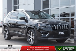 2019 Jeep Cherokee | Limited | BLIND SPOT | 8.4