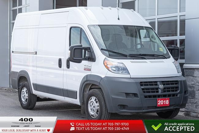 2018 Ram Promaster 2500   EXT WHEELBASE   HIGH ROOF   Van Cargo