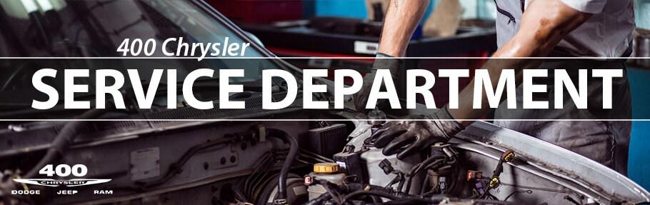 Service Department | 400 Chrysler Dodge Jeep Ram