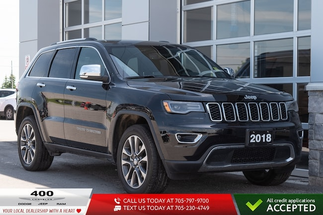 2018 Jeep Grand Cherokee | Limited | VENTED SEATS | NAVIGATION | SUV