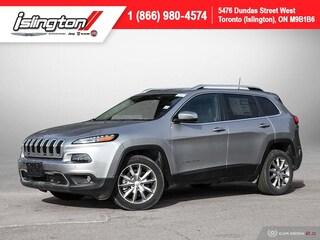 2018 Jeep Cherokee Limited **Demo!!** NAV Leather Bkpcam +++ SUV