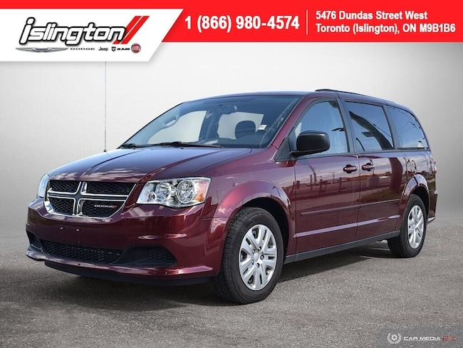 2017 Dodge Grand Caravan SXT **Stow&GO** Ultra LOW KM SAT Radio+++ Van