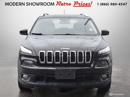 Used 2015 Jeep Cherokee For Sale at Islington Chrysler FIAT