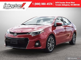2016 Toyota Corolla S **6 Speed!!** Leather Sunroof Bkpcam+++ Sedan