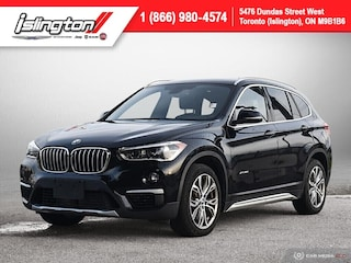2018 BMW X1 xDrive28i **LUXURY!!** |PANOROOF|LEATHER|BKPCAM| SUV