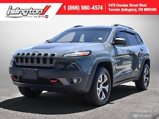 2015 Jeep Cherokee Trailhawk **LOW KMS!!** Leather NAV Bkpcam+++ SUV