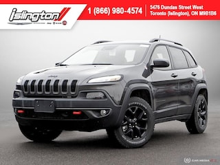 2018 Jeep Cherokee Trailhawk **Demo!!** NAV Panoroof Leather +++ SUV