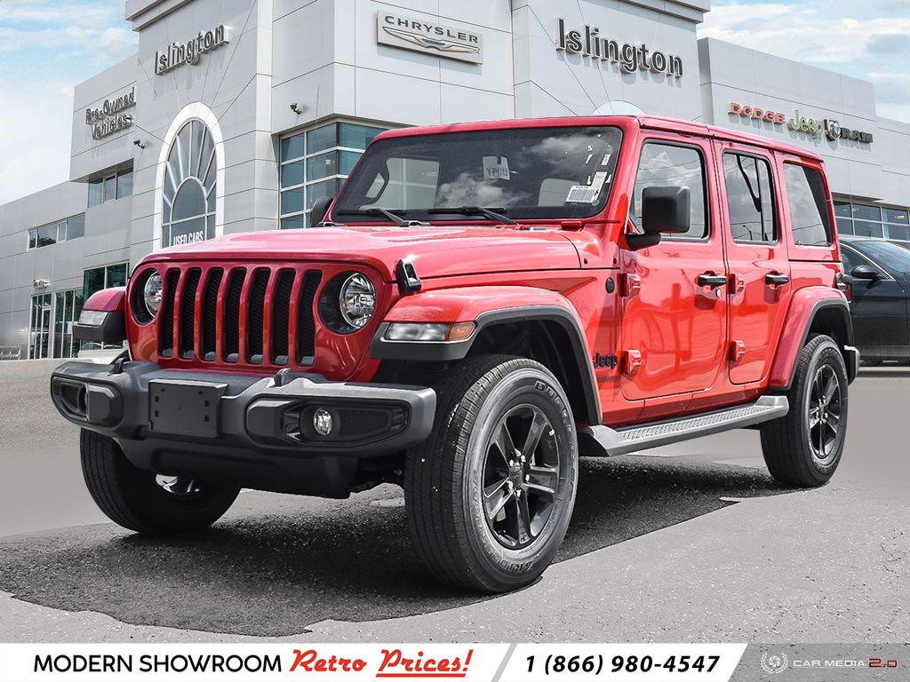 New 2021 Jeep Wrangler Unlimited For Sale At Islington Chrysler Fiat Vin