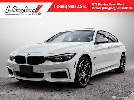 2018 BMW 4 Series Gran Coupe **Loaded!!** Leather Sunroof Satrad NAV Hatchback