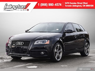 2011 Audi A3 Premium Quattro **LOW KMS!!** Leather 2xsunroof+++ Hatchback