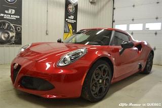 2015 Alfa Romeo 4C Base Coupé