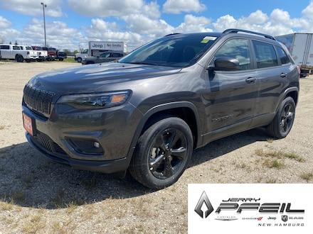 2021 Jeep Cherokee ALTITUDE l LEATHER l TRAILER TOW PKG 4x4