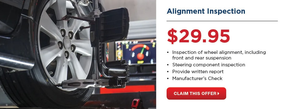 Alignment Inspection $29.95