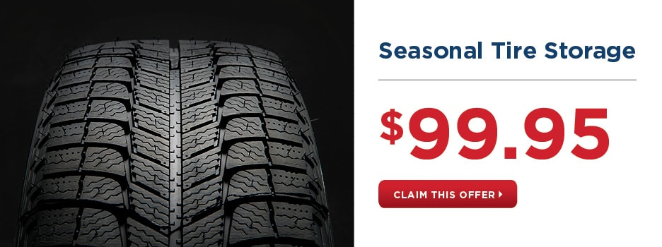 Seasonal Tire Storage