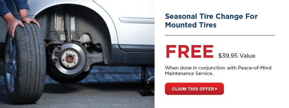 Free Seasonal Tire Change