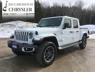 2020 Jeep Gladiator Overland 4x4, Tow Pkg, Leather, Dual Tops Truck Crew Cab