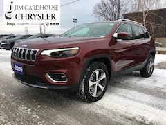 2020 Jeep Cherokee Limited 4x4, Leather, GPS, Heated Seats SUV