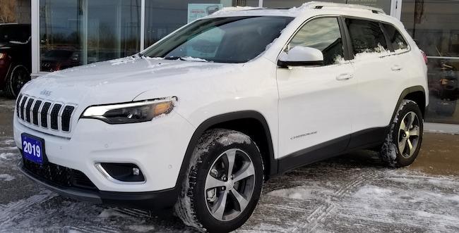 2019 Jeep New Cherokee Limited 4x4, Leather, Heated Seats, GPS SUV