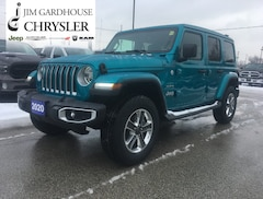 2020 Jeep Wrangler Unlimited Sahara 4x4 Leather Remote Start SUV