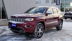2019 Jeep Grand Cherokee Overland 4x4, Leather, GPS, Remote Start SUV