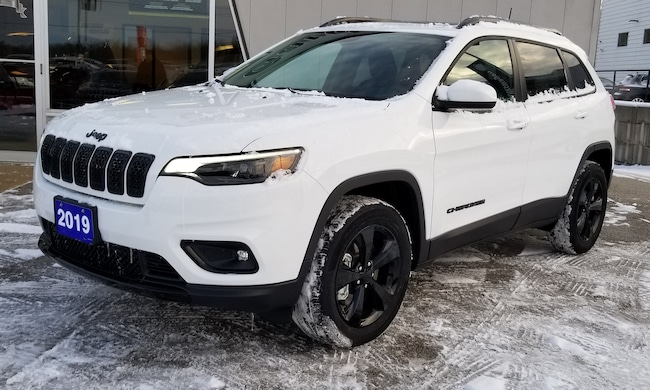 2019 Jeep New Cherokee Altitude 4x4, Heated Seats, Remote Start SUV