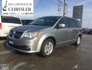 2019 Dodge Grand Caravan Crew Plus, Leather, Backup Cam, DVD Van