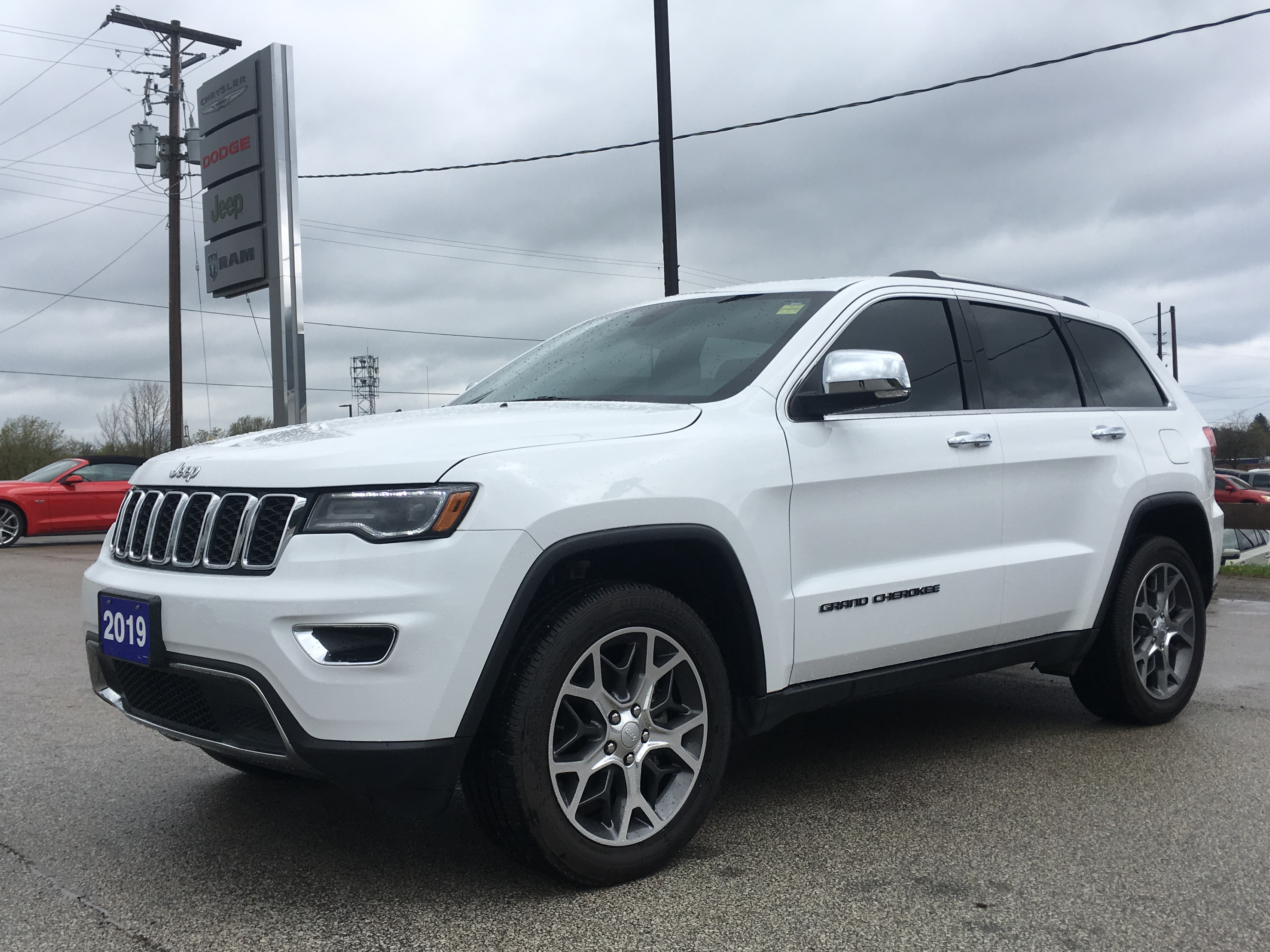 2019 Jeep Grand Cherokee Limited 4x4, Leather, Bluetooth, Remote Start, *DE SUV