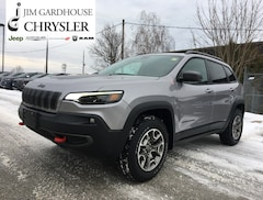 2020 Jeep Cherokee Trailhawk Elite 4x4 Leather, GPS, Heated Seats SUV