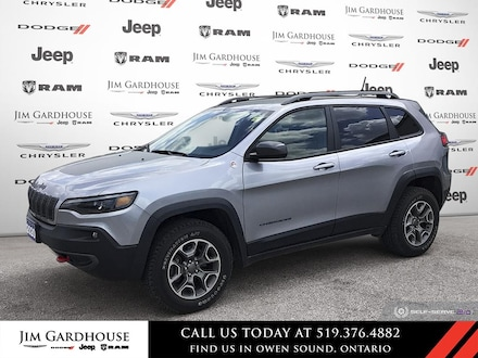 2020 Jeep Cherokee Trailhawk-FORMER DAILY RENTAL SUV