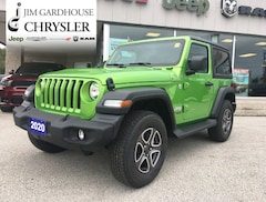 2020 Jeep Wrangler Sport S 4x4, Heated Seats, Remote Start SUV