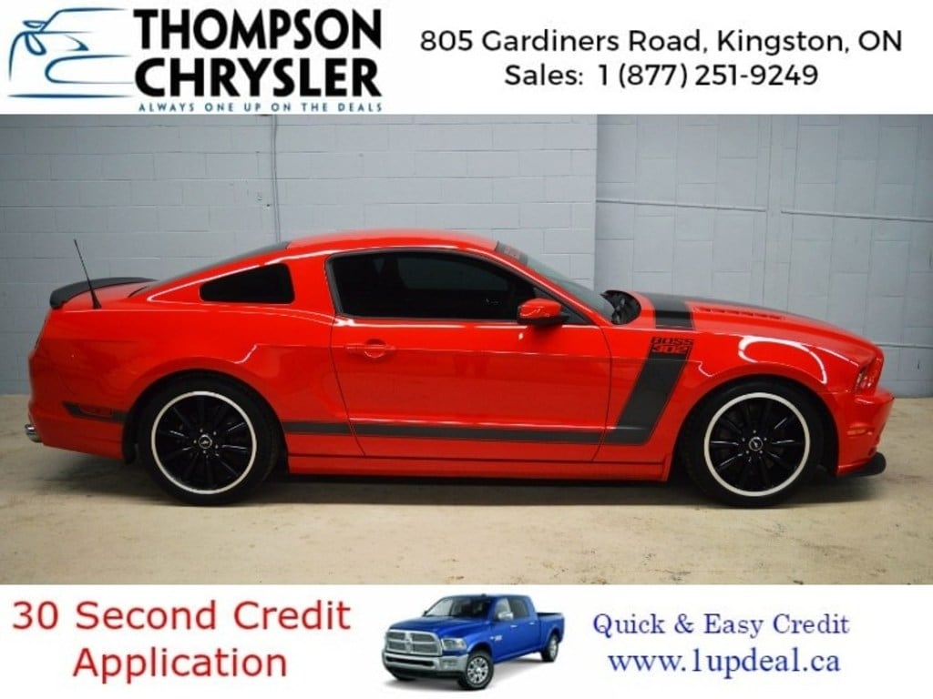 2013 Ford Mustang Boss 302 - Handsfree * Cruise * Keyless Entry Coupe DYNAMIC_PREF_LABEL_INVENTORY_FEATURED_USED_INVENTORY_FEATURED1_ALTATTRIBUTEAFTER