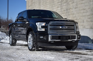 2017 Ford F-150 Limited   4X4   Leather Crew Cab