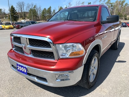 2009 Dodge Ram 1500 SXT - Sat Radio - 8' Box Truck Regular Cab